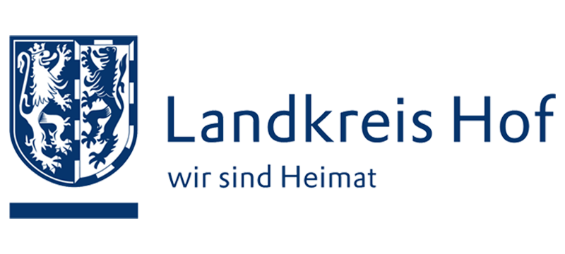 Logo des Landkreis Hof